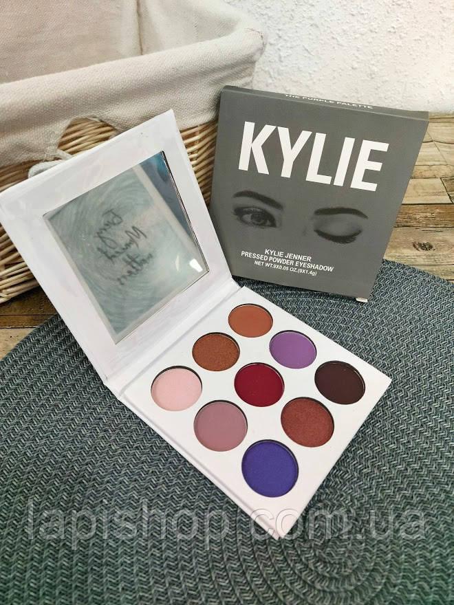 Набор теней для век Kylie 9 цветов с зеркалом