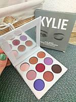 Набор теней для век Kylie 9 цветов с зеркалом, фото 4