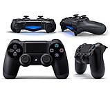 Джойстик геймпад Sony PS 4 DualShock 4 Black Чорний ( Репліка ) Безпровідний геймпад PS 4, фото 3