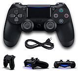 Джойстик геймпад Sony PS 4 DualShock 4 Black Чорний ( Репліка ) Безпровідний геймпад PS 4, фото 8