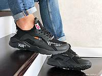 Кроссовки Nike Air Huarache черные, Найк Хуараче