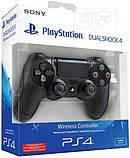 Джойстик геймпад Sony PS 4 DualShock 4 Black Чорний ( Репліка ) Безпровідний геймпад PS 4, фото 9