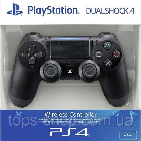 Джойстик геймпад Sony PS 4 DualShock 4 Black Чорний ( Репліка ) Безпровідний геймпад PS 4
