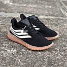 Чоловічі Кросівки Adidas Sobakov Black White Gum, фото 3