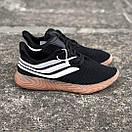 Чоловічі Кросівки Adidas Sobakov Black White Gum, фото 6