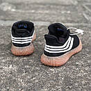 Чоловічі Кросівки Adidas Sobakov Black White Gum, фото 4