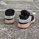 Мужские кроссовки Adidas Sobakov Black White Gum, фото 4