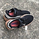 Чоловічі Кросівки Adidas Sobakov Black White Gum, фото 2