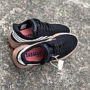 Мужские кроссовки Adidas Sobakov Black White Gum, фото 2
