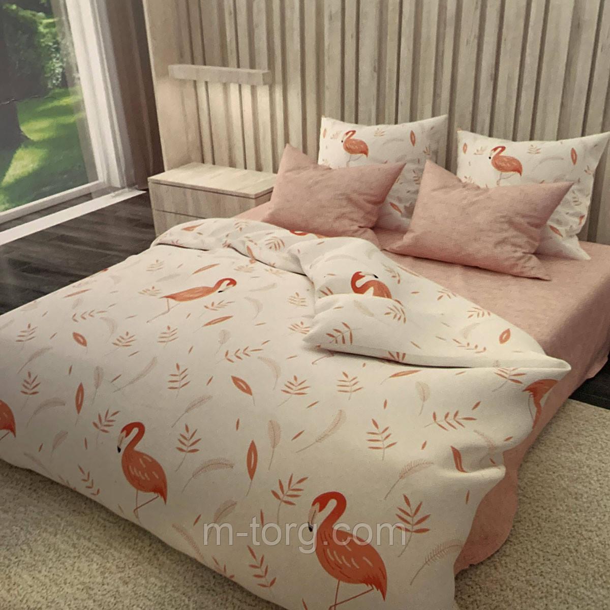 Комплект постельного белья двуспальный 180/210, нав-ки 70/70, ткань сатин, 100% состоит из хлопка