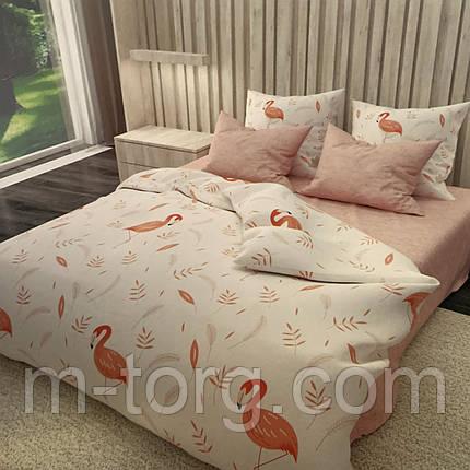 Комплект постельного белья двуспальный 180/210, нав-ки 70/70, ткань сатин, 100% состоит из хлопка, фото 2