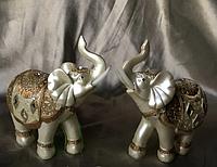 Шкатулка фэн - шуй слоны денежные, высота 12 см.