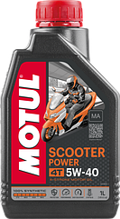 Моторне масло MOTUL SCOOTER POWER 4T 5W40 (1L)