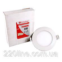 ElectroHouse LED панель кругла 4100К / Ø 120мм / Ø раб. 100мм / 6W / 540Lm