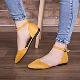Туфли женские 41 размер 26 см Желтые, фото 2