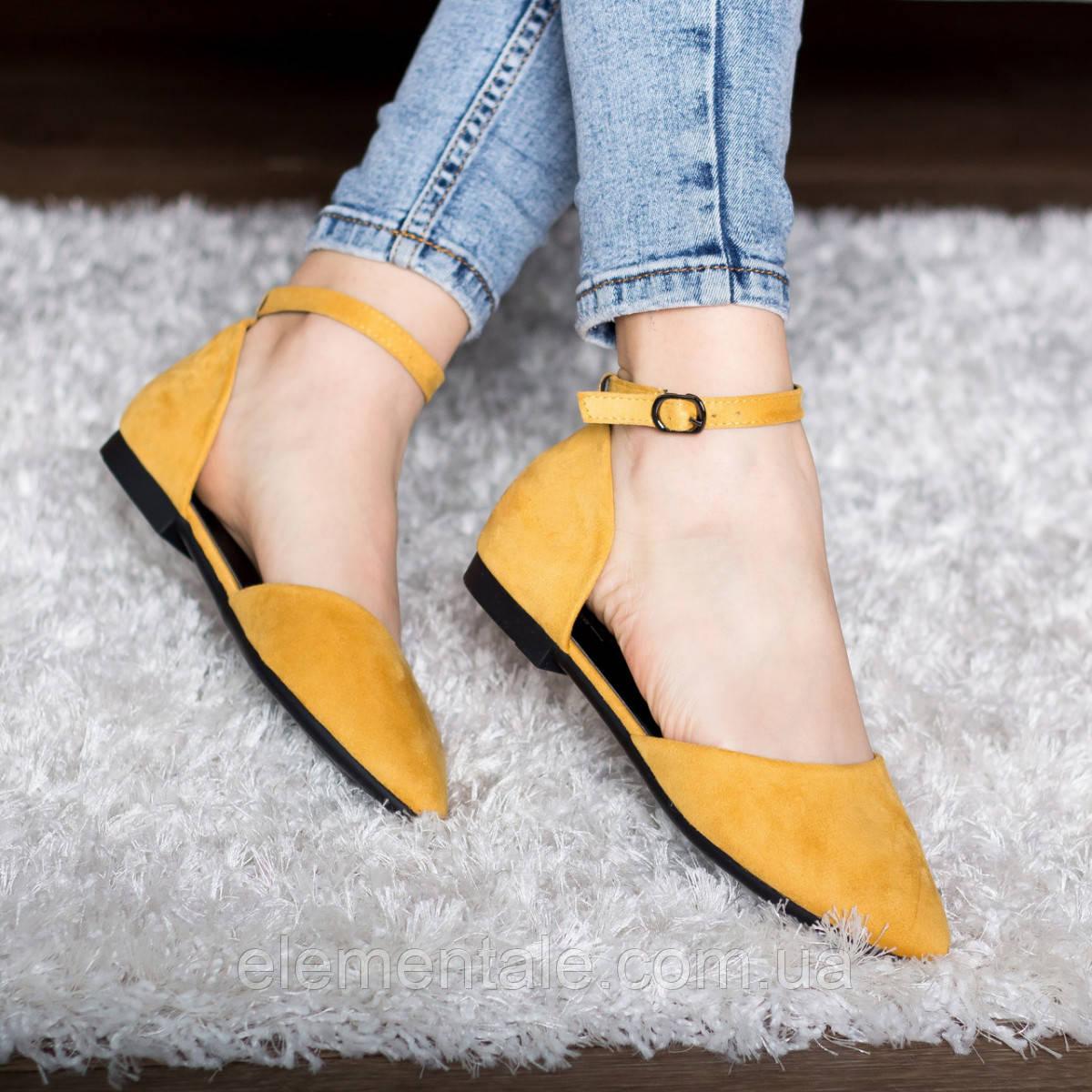 Туфли женские 41 размер 26 см Желтые