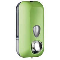 Дозатор жидкого мыла  пластик зеленый 550мл