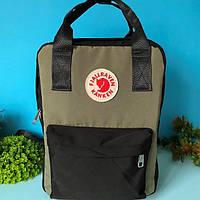 Сумка рюкзак Fjallraven Kanken 16 л зеленый, фото 1