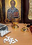 Кадильница под золото + ладан с Афона + уголь кадильный, фото 3