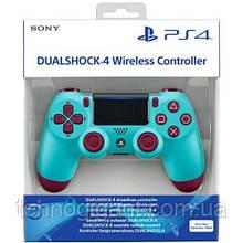 Джойстик геймпад Sony PS 4 V2 DualShock 4 Berry Blue репліка, блакитний Безпровідний геймпад PS 4