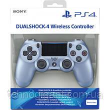 Джойстик геймпад Sony PS 4 V2 DualShock 4 V2 Titanium Blue репліка, блакитний Безпровідний геймпад PS 4