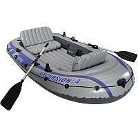 Четырехместная надувная лодка Intex EXCURSION 68324