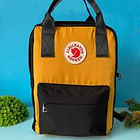 Сумка рюкзак Fjallraven Kanken 16 л желтый