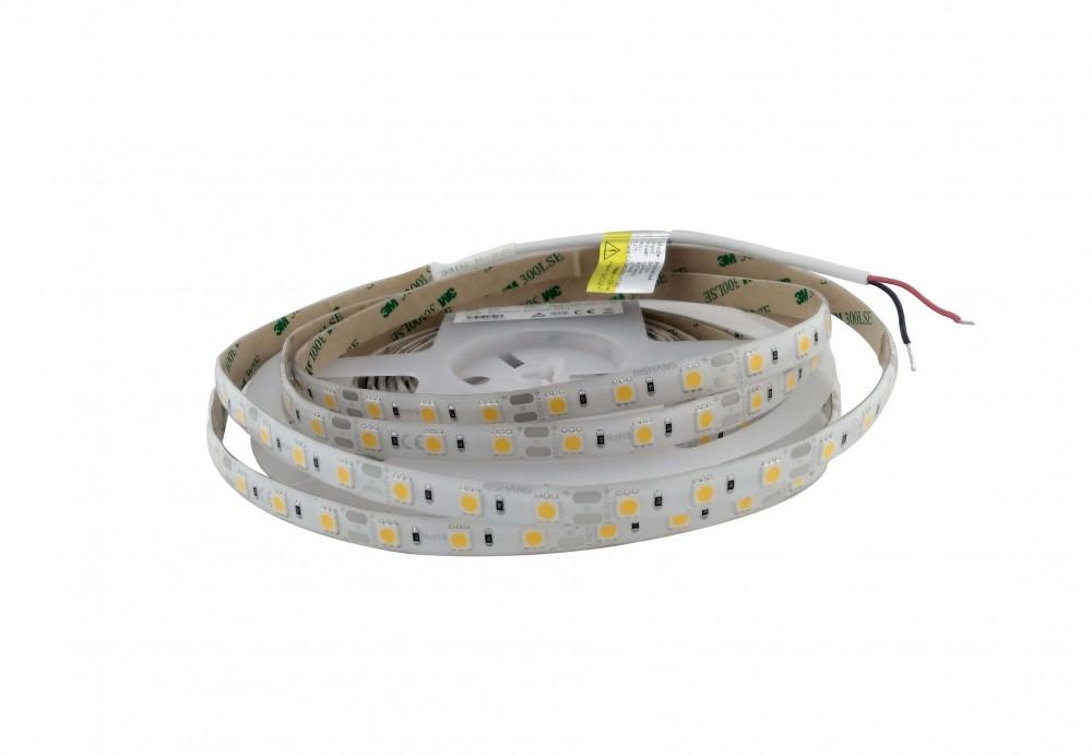 Світлодіодна стрічка тепло біла 12Вт 12вольт 5050-60-IP65-WW-10-12 RD6060AA Рішанг 14275о