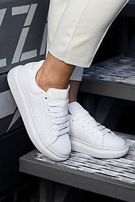 Мужские кроссовки A. McQueen white