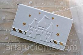 """Детский фотоальбом для девочки """"Маленькая принцесса"""" с замком"""
