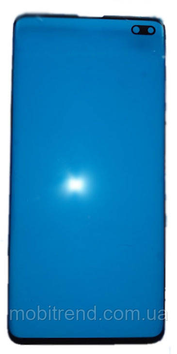 Стекло дисплея для переклейки Samsung G975 S10 Plus Черный