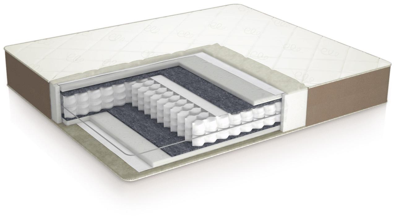 Пружинний ортопедичний матрац ComforteX Ideal plus Usleep 140x190