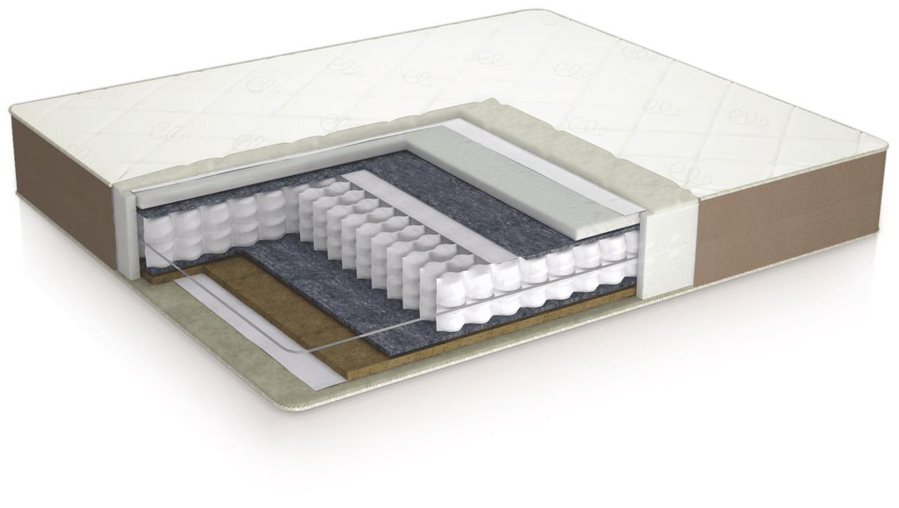 Пружинний ортопедичний матрац ComforteX Aurora Linum Usleep 90х190