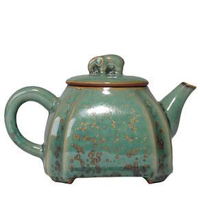 Чайник заварник з чашкою керамічний 130 і 90 мл