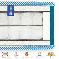 Пружинний ортопедичний матрац PhytoLife Red Sea Usleep 80х200, фото 2