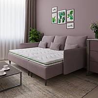 Тонкий матрац топпер-футон SleepRoll Green Usleep 150х190, фото 2
