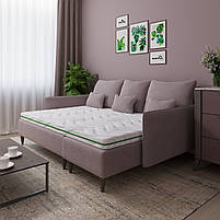 Тонкий матрац топпер-футон SleepRoll Green Usleep 180х190, фото 3