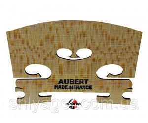 AUBERT 405203 Original Mirror Cut Подставка под струны (кобылка) для скрипки 1/2