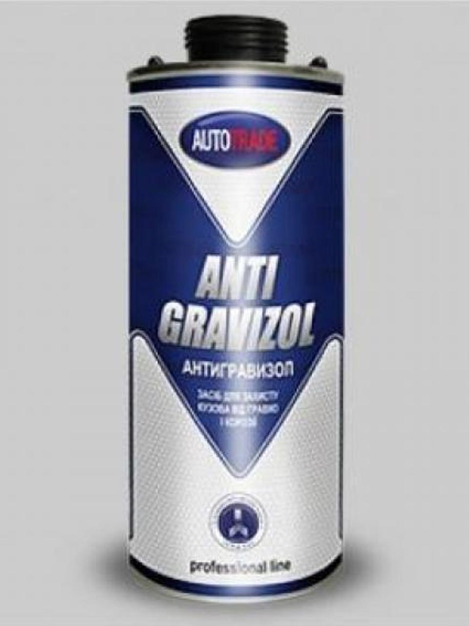 Антигравий чорний Antigravizol 1л Autotrade