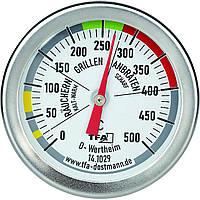 Термометр для коптильни барбекю гриля тандыра мангала духовки TFA (141029) 0-500 °C Нержавеющая сталь