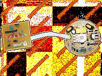 Блок электроники для фена Титан ПФ2000Е.