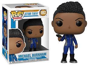 Фигурка Funko Pop Star Trek Мишель Бёрнхем Michael Burnham 10см ST MB 1002