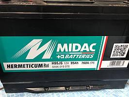 Акумулятор АКБ MIDAC HERMETICUM 6CT-95 Asia євро (2G)
