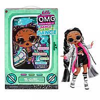 Кукла ЛОЛ ОМГ Брейк-Данс Леди LOL OMG Dance B-Gurl Series L.O.L. Surprise! O.M.G. Серии Дэнс 117858 Оригинал