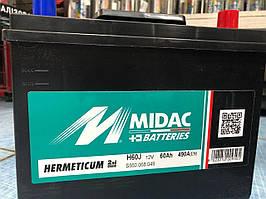 Акумулятор АКБ MIDAC HERMETICUM 6CT-60 Asia (2G)