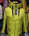 Молодежная женская куртка демисезон больших размеров  Размеры 46 - 60, фото 6