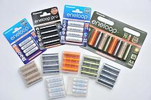 Пальчиковые аккумуляторы Eneloop