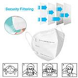 10шт FFP2 KN95 Респиратор маска защитная многоразовая белый, фото 5