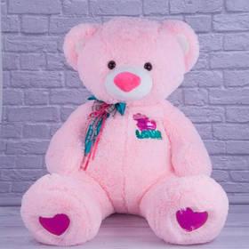 Мягкая игрушка Медвежёнок Бублик 21004-05 розовый