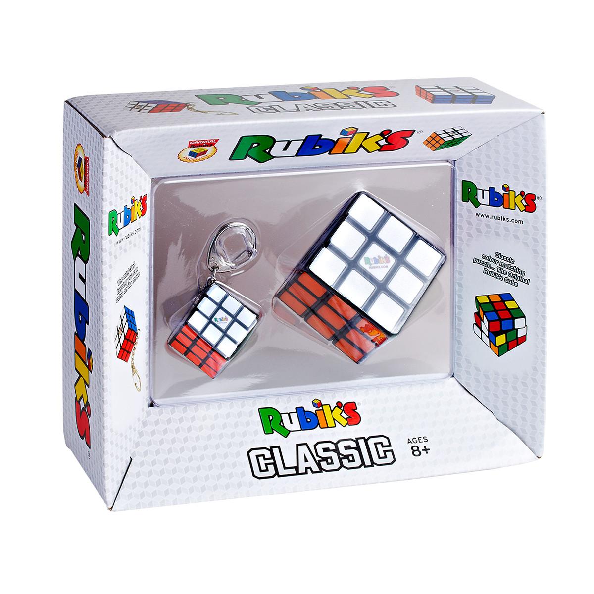 Набір головоломок 3*3 rubik's - КУБИК І МІНІ-КУБИК (з кільцем)